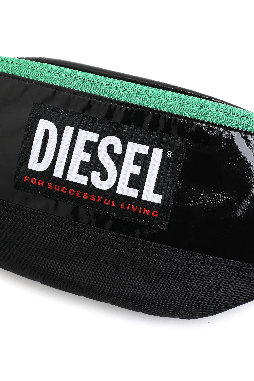 Diesel - LYAM PAT, Black/Green - Belt bags - Image 5