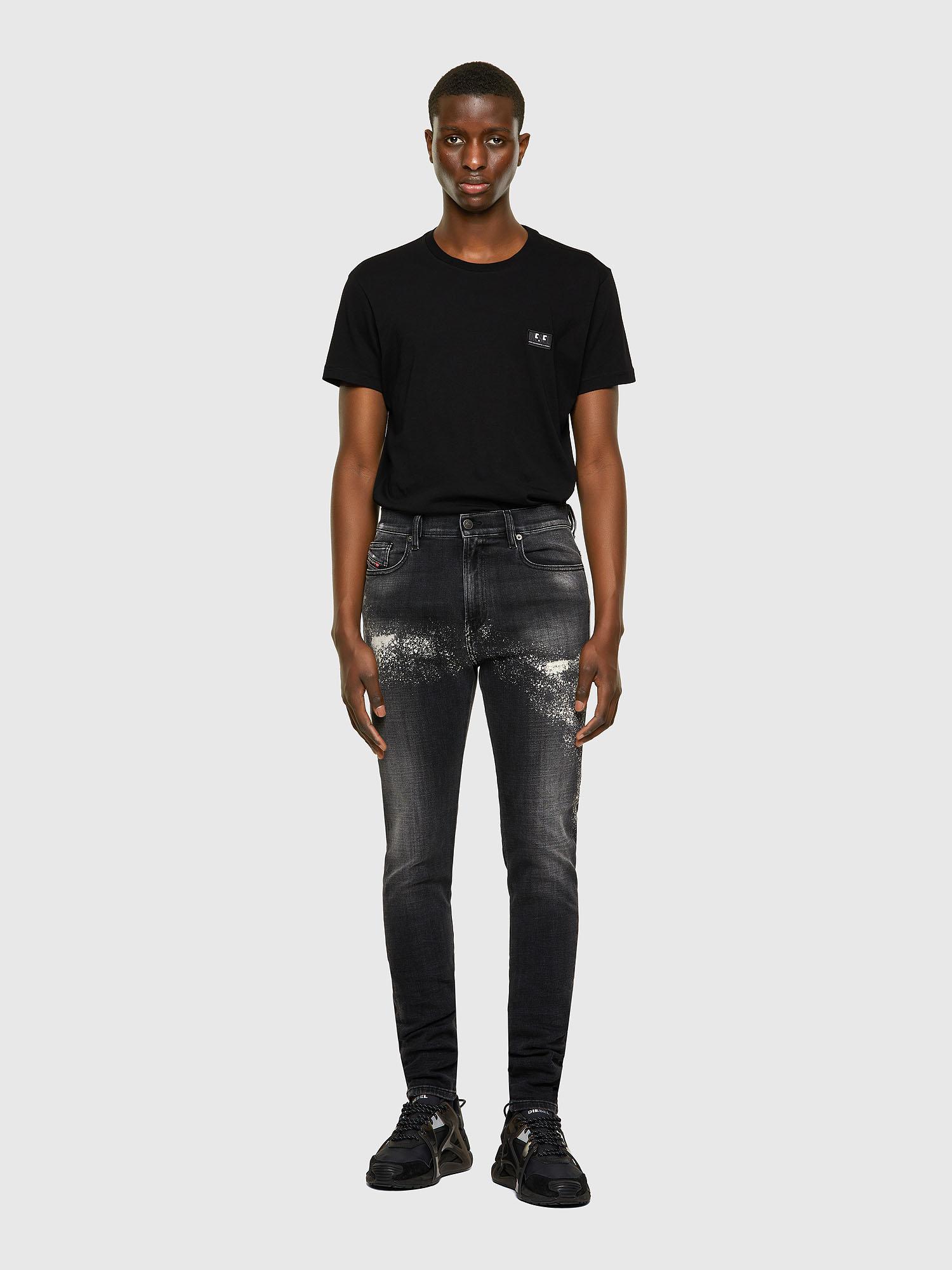 Diesel - D-Amny 009QW, Black/Dark grey - Jeans - Image 5
