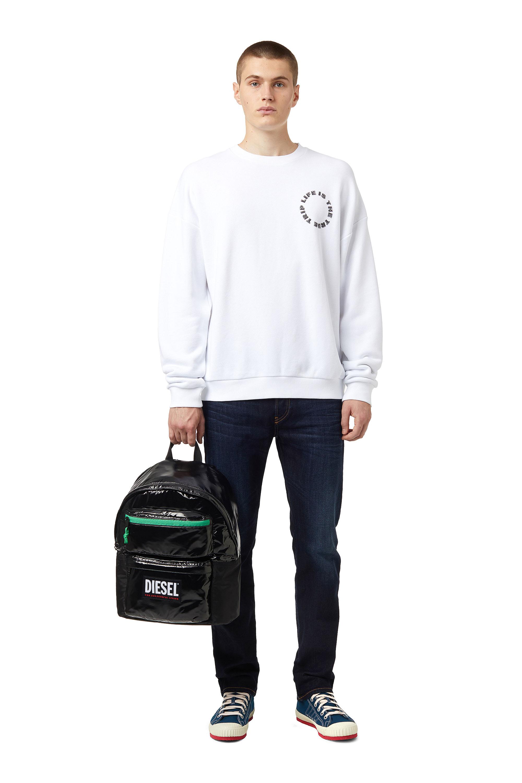 Diesel - S-MART-B3, White - Sweaters - Image 4