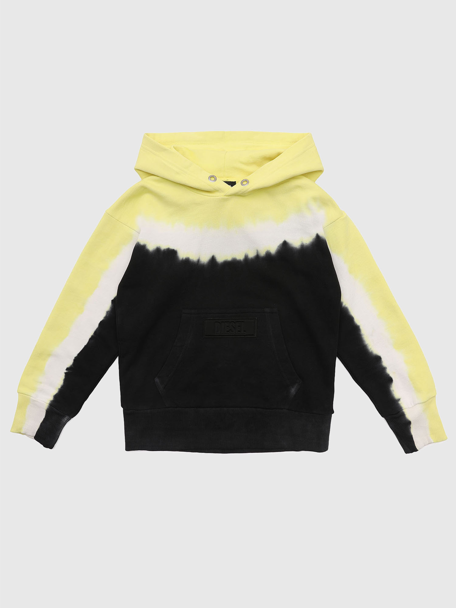 Diesel - SALBYDEEP OVER, Black/Yellow - Sweaters - Image 1