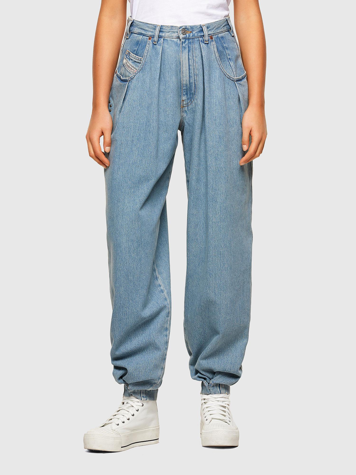 Diesel - D-Concias 009RQ, Light Blue - Jeans - Image 1