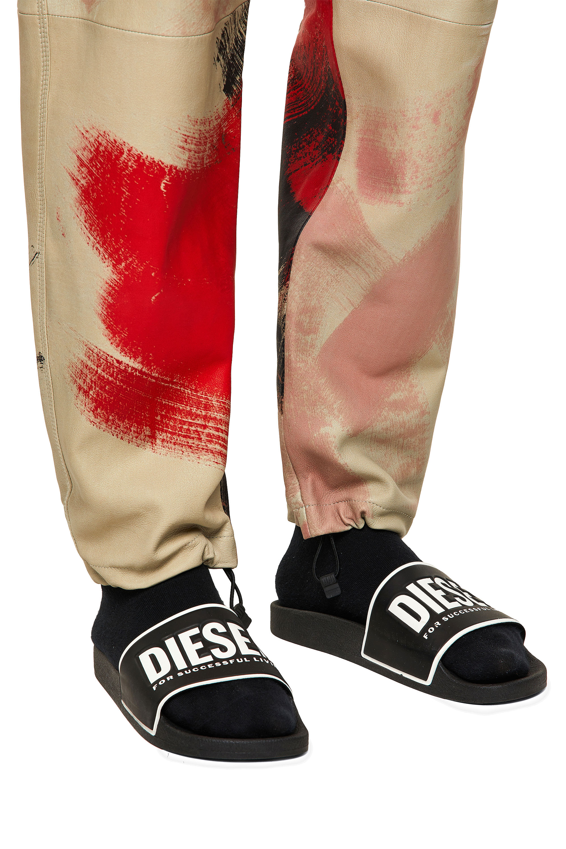 Diesel - P-TOLLER-CMF, Red/White - Pants - Image 3