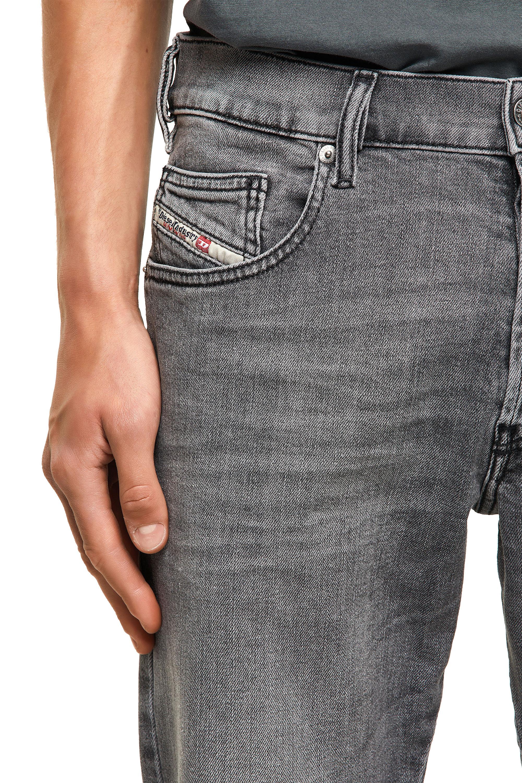 Diesel - D-Yennox 09A10, Light Grey - Jeans - Image 3