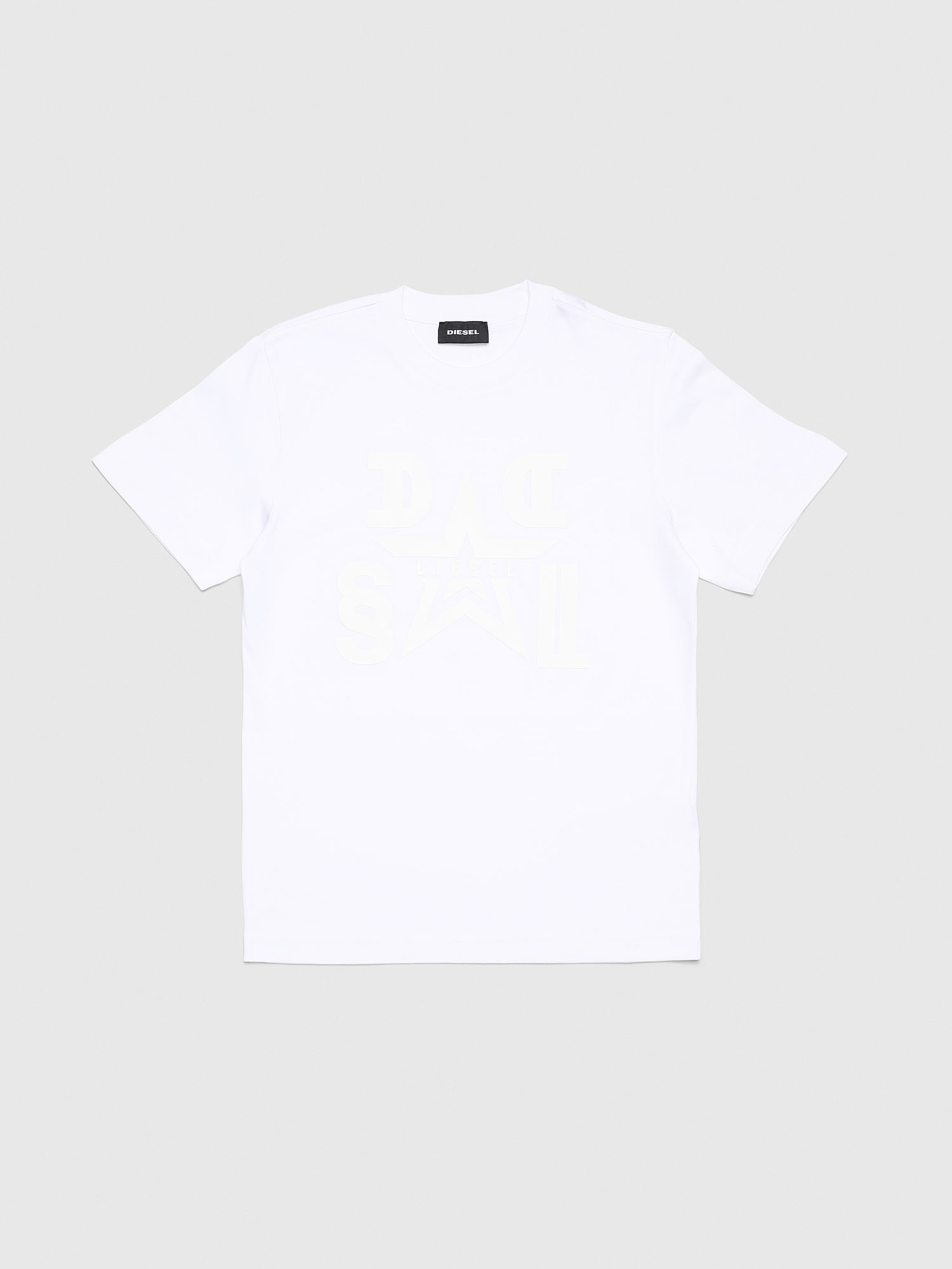 Diesel - TDIEGOA8, White - T-shirts and Tops - Image 1
