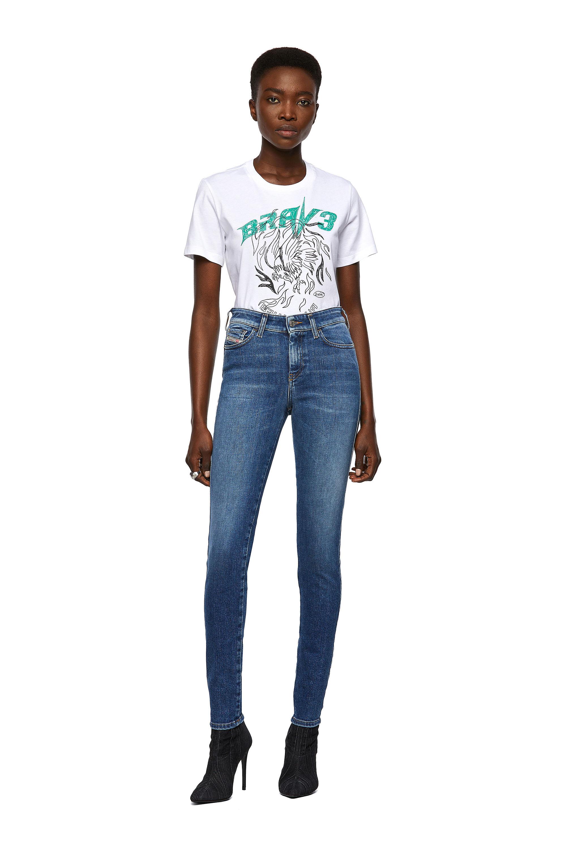 Diesel - Slandy 009ZW, Medium blue - Jeans - Image 5