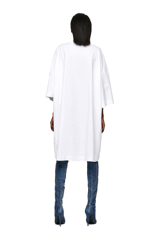 Diesel - D-EXTRA-ECOLOGO, White - Dresses - Image 2