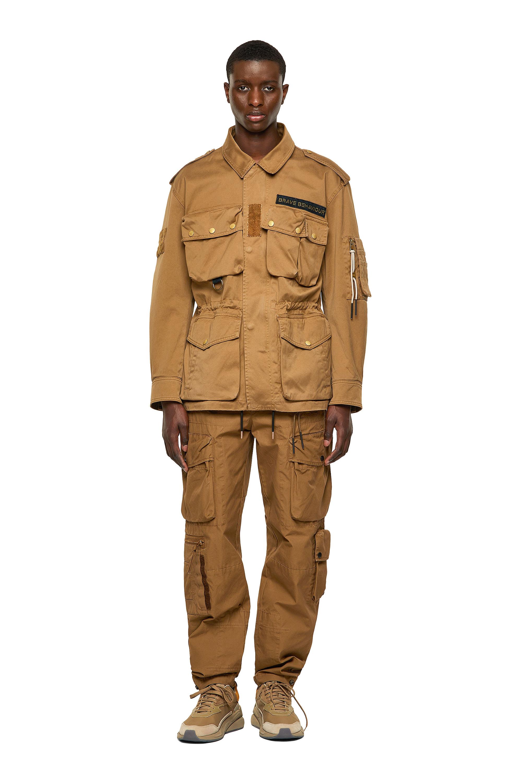 Diesel - J-LOYD, Brown - Jackets - Image 7