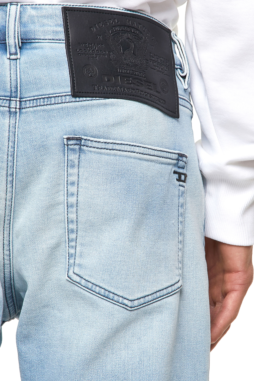 Diesel - D-Strukt JoggJeans® Z69VL, Light Blue - Jeans - Image 4