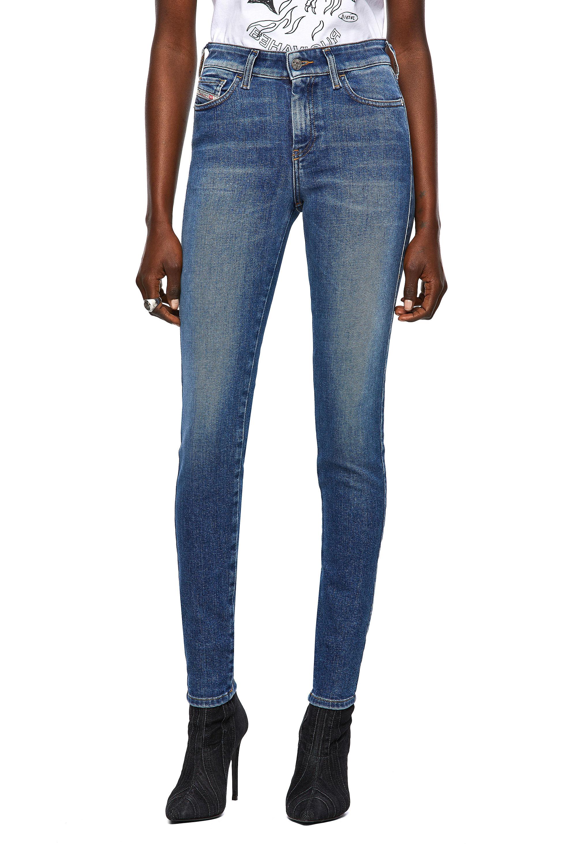 Diesel - Slandy 009ZW, Medium blue - Jeans - Image 1