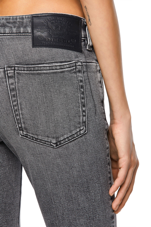 Diesel - D-Jevel 09A72, Light Grey - Jeans - Image 4