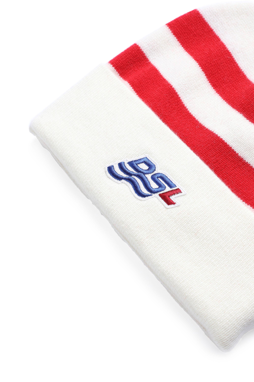 Diesel - K-MIDLAND, White/Red - Knit caps - Image 3