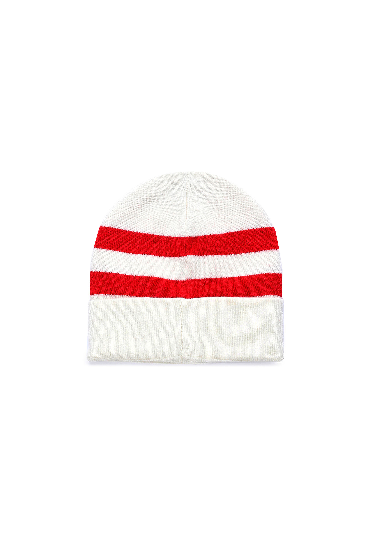 Diesel - K-MIDLAND, White/Red - Knit caps - Image 2
