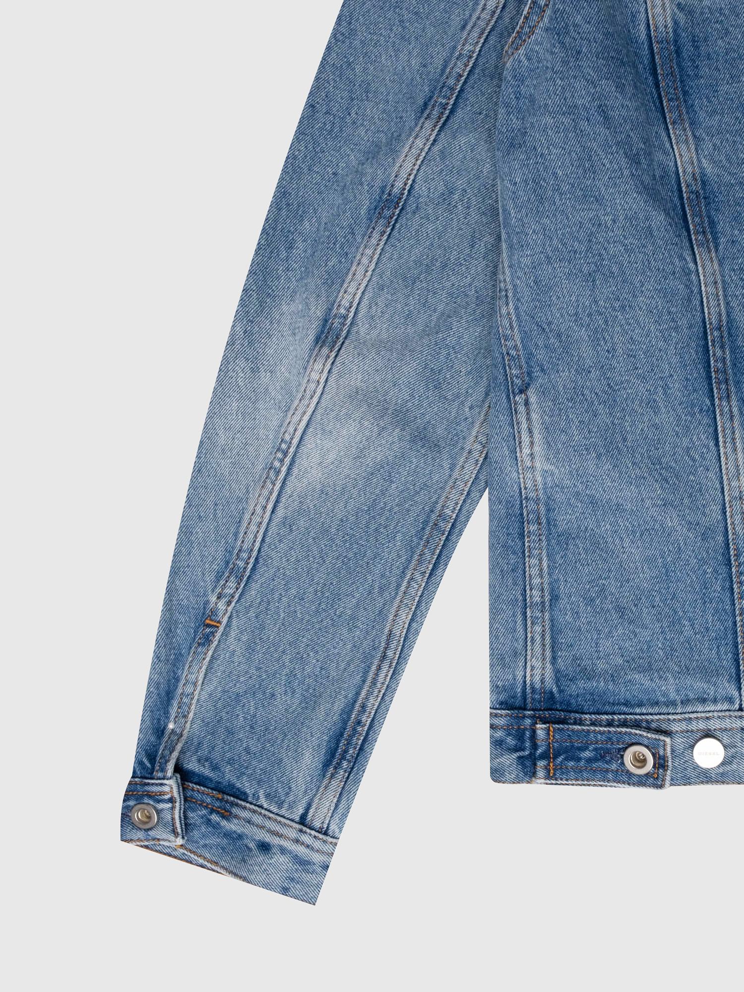 Diesel - US-NHILL-POP1, Medium blue - Denim Jackets - Image 4