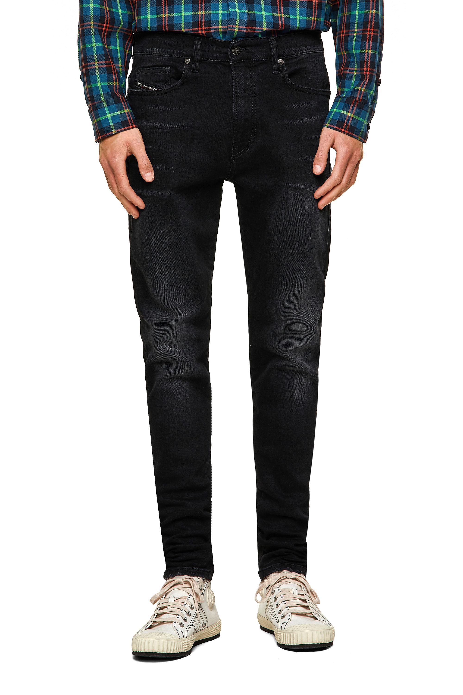 Diesel - D-Amny 0092B, Black/Dark grey - Jeans - Image 1