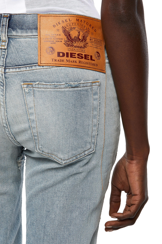 Diesel - D-Ebbey 09A04, Light Blue - Jeans - Image 3