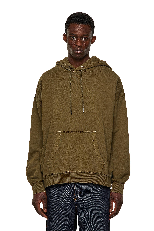 Diesel - S-ERPOCKOO-B1, Olive Green - Sweaters - Image 1