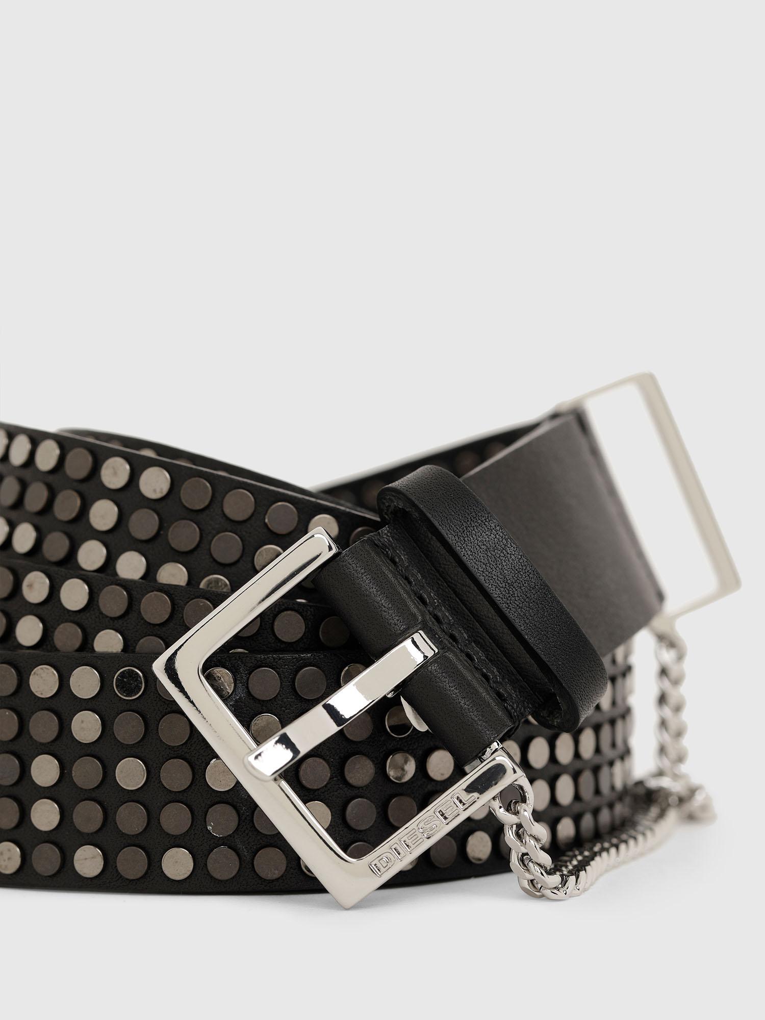 Diesel - B-STAD, Black - Belts - Image 2