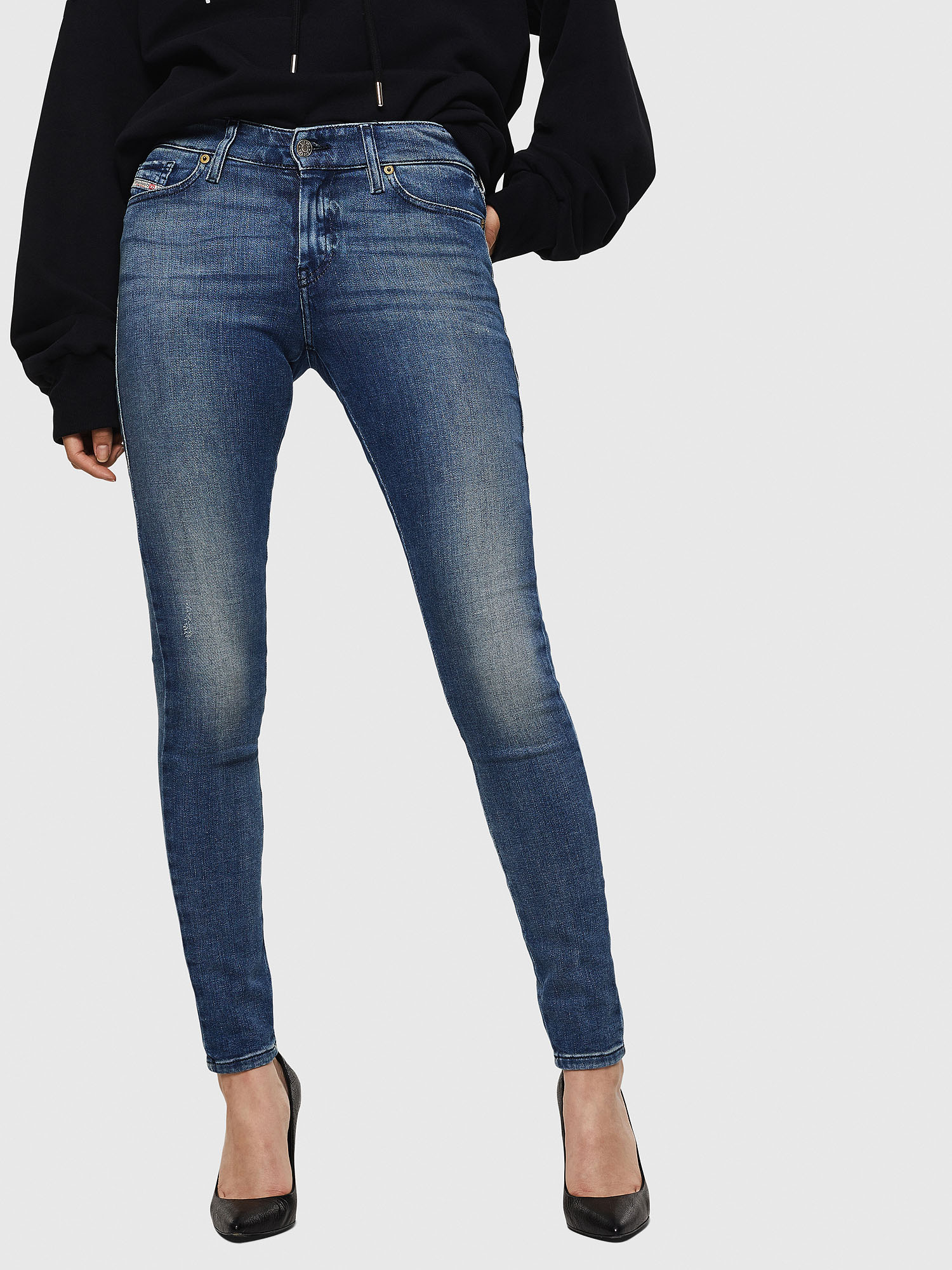 Diesel - Slandy 083AQ, Medium blue - Jeans - Image 1