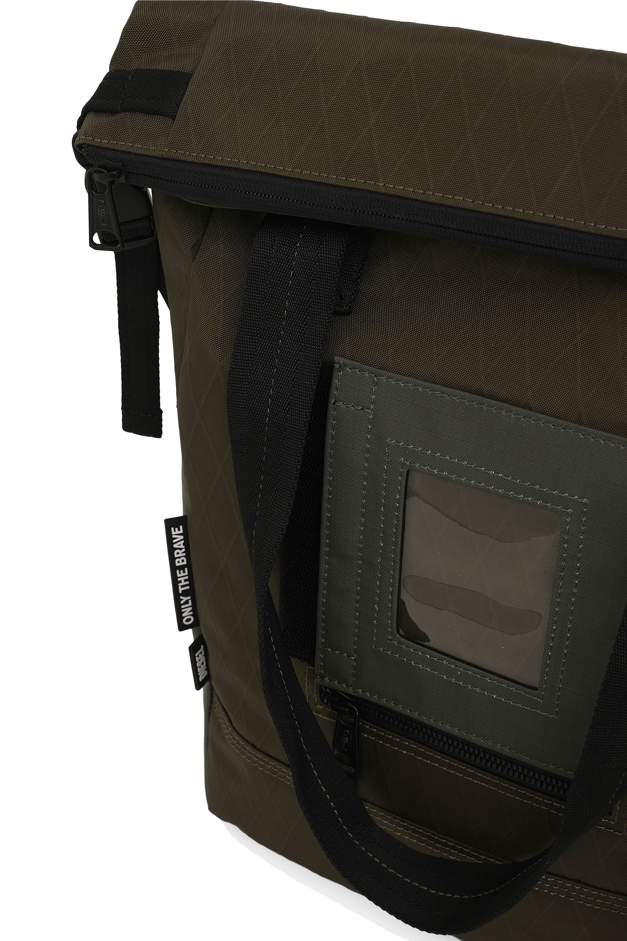 Diesel - SHIGA, Green Camouflage - Shopping and Shoulder Bags - Image 5
