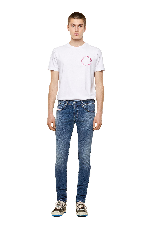 Diesel - Sleenker 09A60, Medium blue - Jeans - Image 5