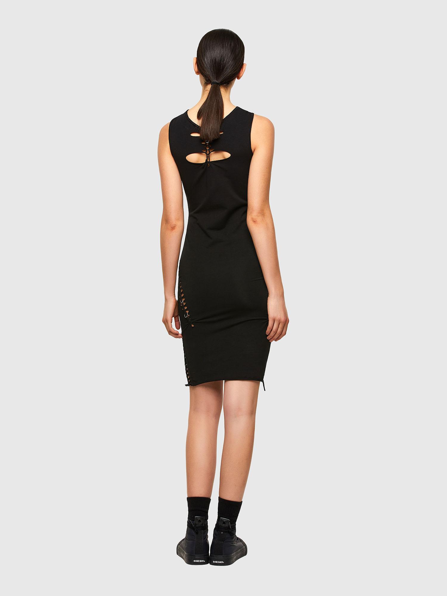 Diesel - D-BRAIDEN, Black - Dresses - Image 2