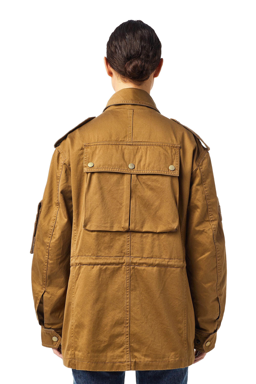 Diesel - J-LOYD, Brown - Jackets - Image 4