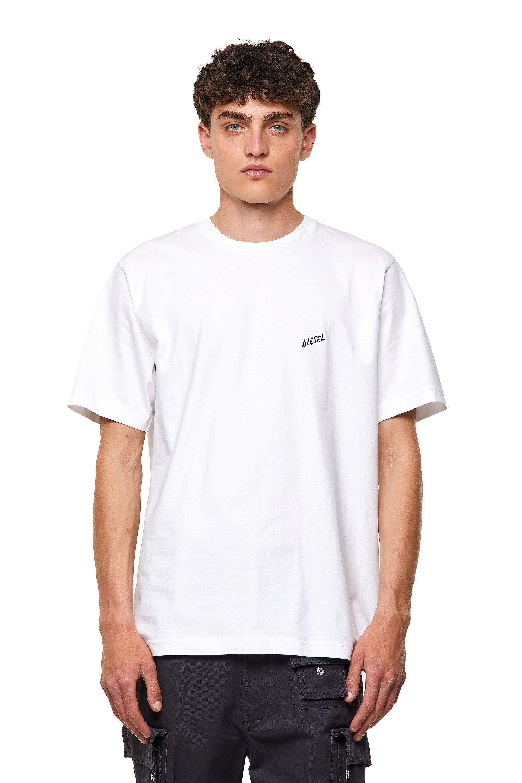 Diesel - T-TUBOLAR-B1, White - T-Shirts - Image 1