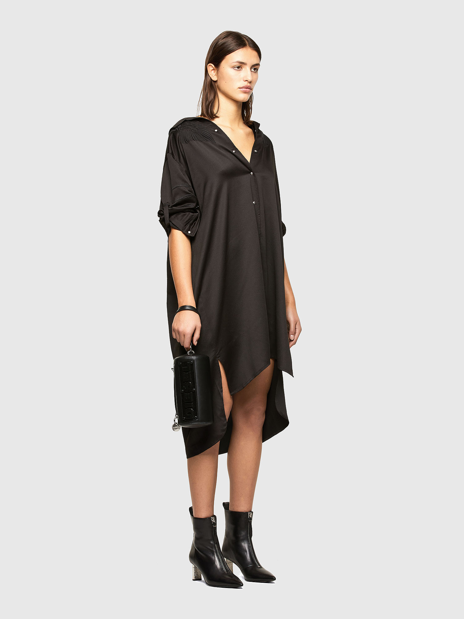 Diesel - D-NIA, Black - Dresses - Image 6