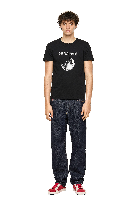 Diesel - T-INY-B1, Black - T-Shirts - Image 4