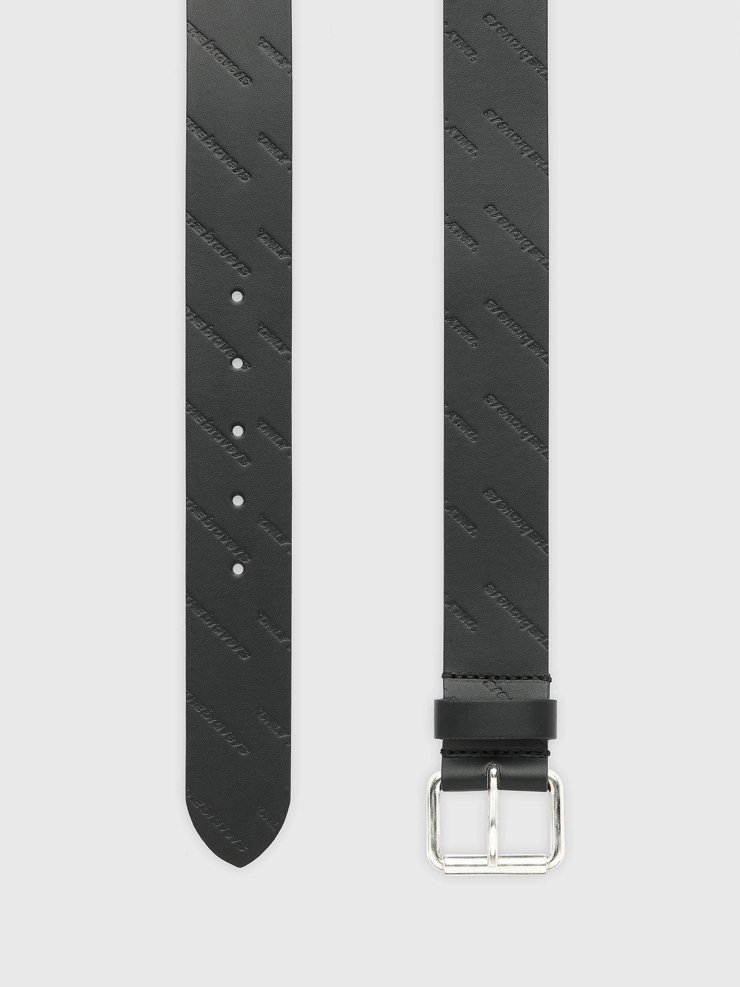 Diesel - B-OLLY, Black - Belts - Image 3