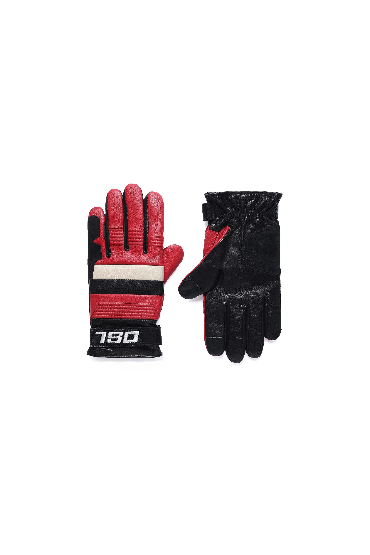 Diesel - G-RACE, Black/Red - Gloves - Image 1