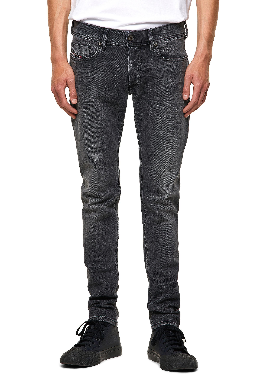 Diesel - Sleenker 09A18, Black/Dark grey - Jeans - Image 1