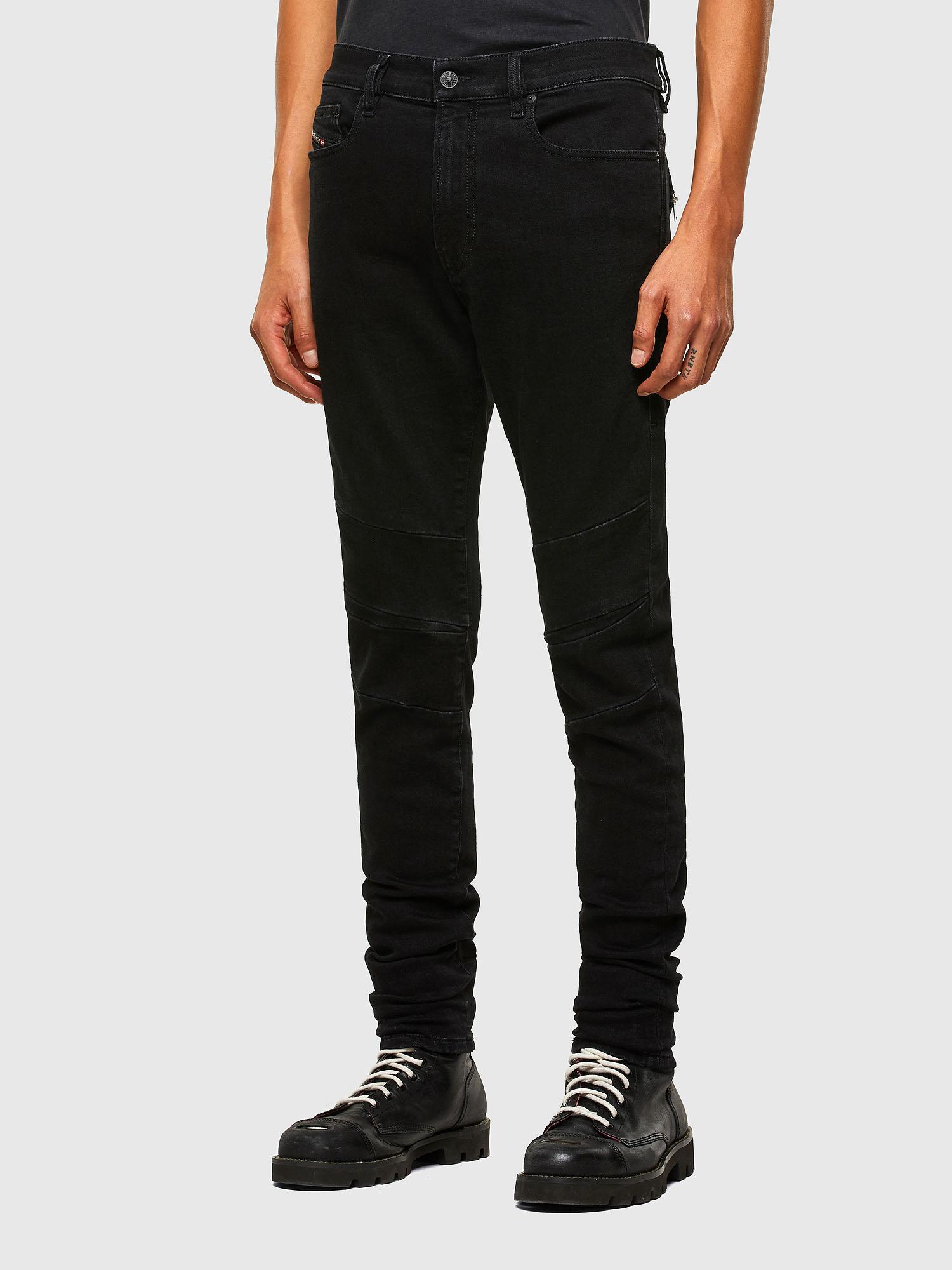 Diesel - D-Amny 009RB, Black/Dark grey - Jeans - Image 7