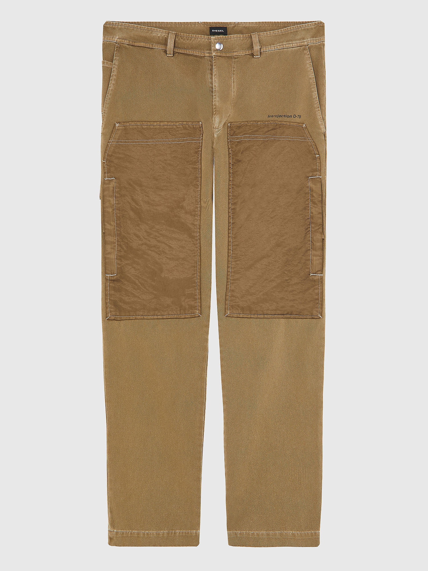 Diesel - P-TRENT, Light Brown - Pants - Image 1
