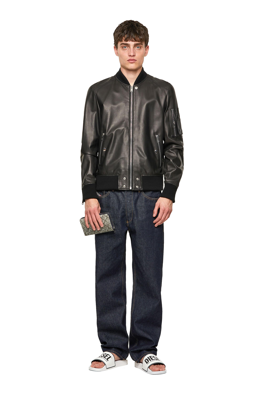 Diesel - L-ABBOTT, Black - Leather jackets - Image 5